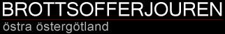 BrottsofferJouren Östra Östergötland Logotyp
